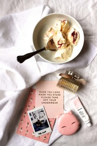 My low-key Valentine's / How to celebrate February 14th without making a big deal of it / Cake + Whisky