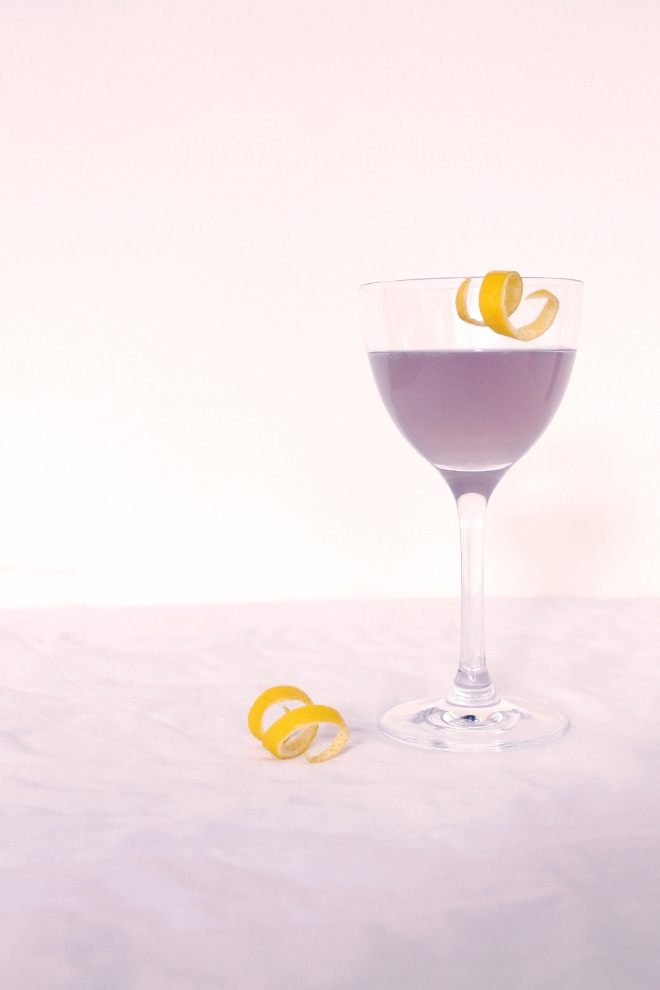 Classic Aviation Cocktail // Simple Spring Cocktail // Cake + Whisky