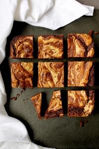 Tahini Brownie Recipe // Cake + Whisky