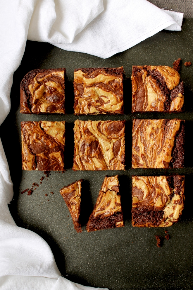 Tahini Brownie Recipe // Cake + Whisky