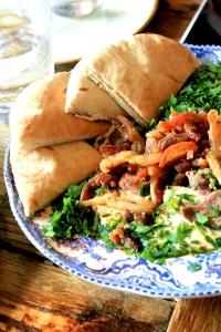 Kosher Feast at Delicatessen, Hampstead